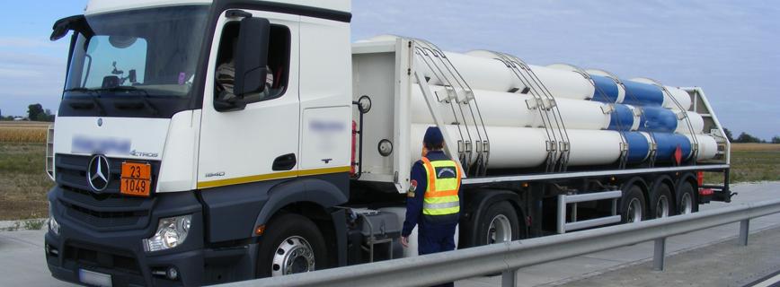 Veszélyesáru-szállítás aloldal fejlécképe