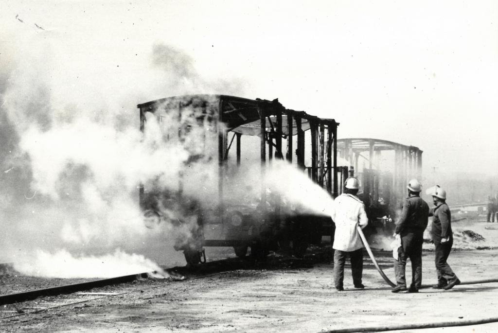 Tűzoltási gyakorlat - 1981.