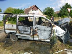 kiégett az autó