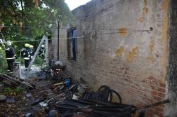 Halálos lakástűz Nagyatád külterületén - romos épület