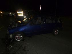 Kaposvár Honvéd utca baleset